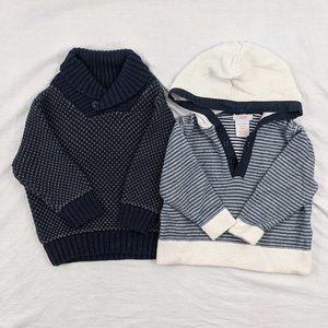 2pcs Gymboree/Joe Fresh Sweaters Size 12-18mths